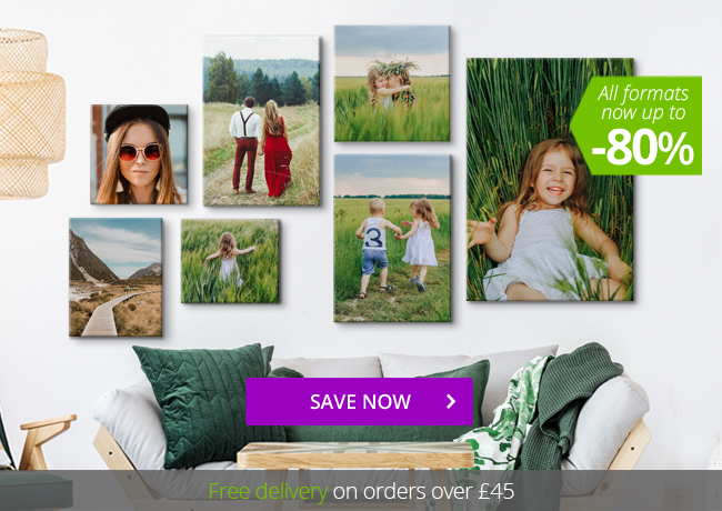 SALE on all canvas formats!
